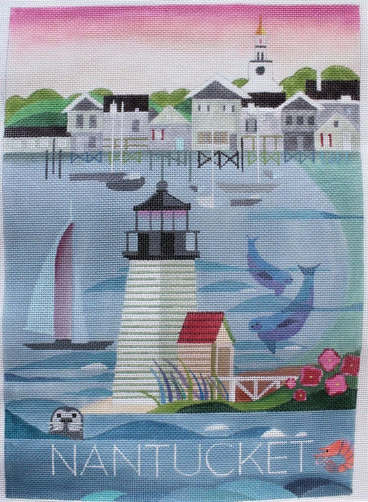 MOUS03 Nantucket Poster Painted Pony