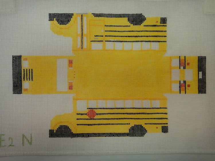E2N School Bus 3-D w Wheels
