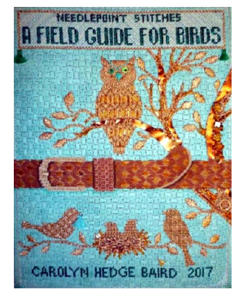 Field Guide for Birds Needlepoint Stitches