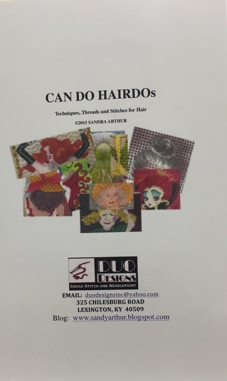Can Do HairDos Needlepoint Book