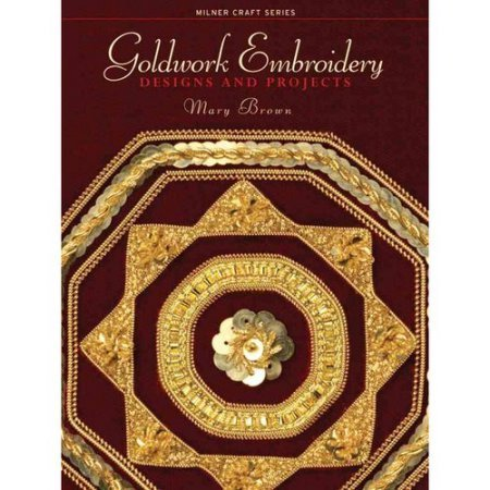 Goldwork Embroidery Mary Brown