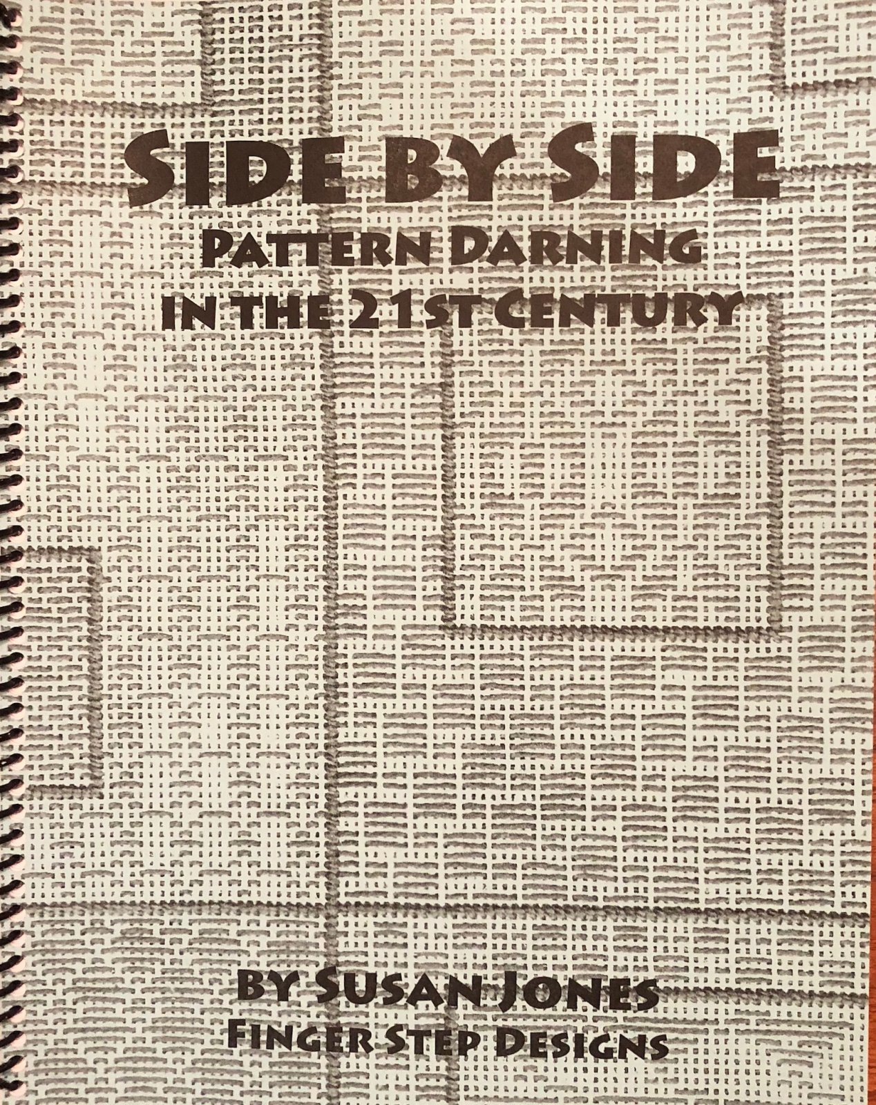 Side by Side Pattern Darning in the 21st Century Book