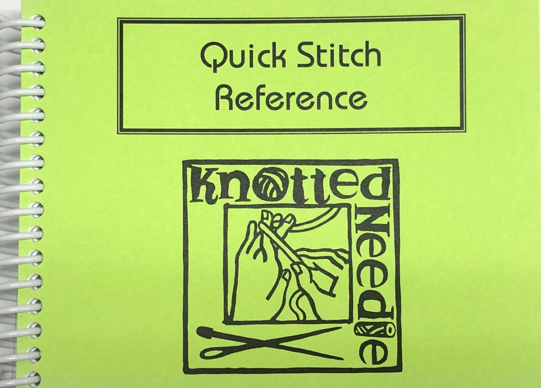 Quick Stitch Reference Book Knotted Needle