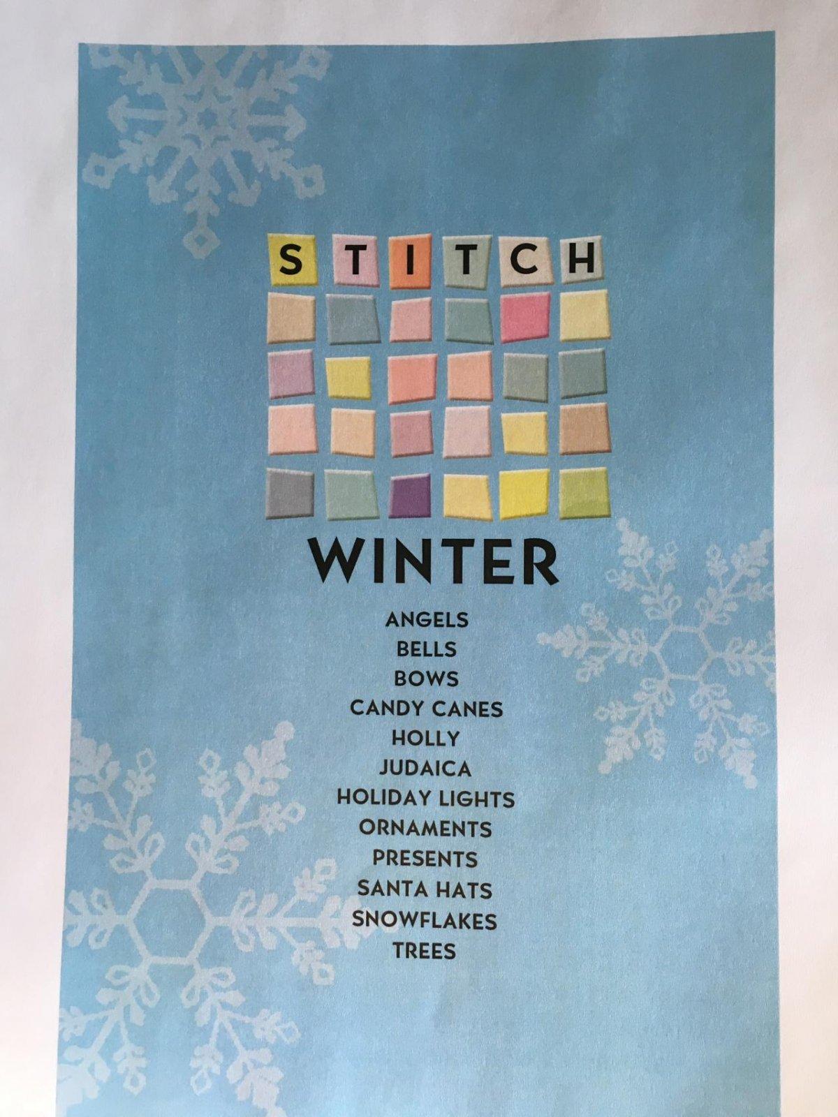 Stitch Winter Book