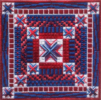 Independence Day Holiday Delights Charted Needlepoint Design