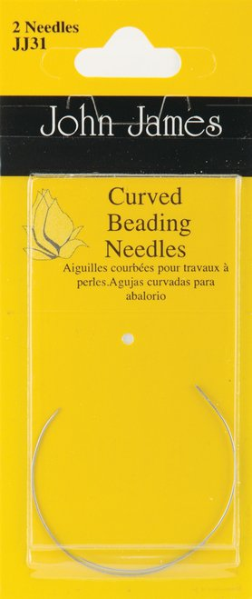 Needles Beading Curved 10 John James JJ31