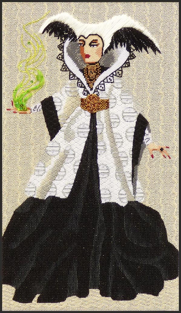 5235 Belladonna Witchy Women w Stitch Guide