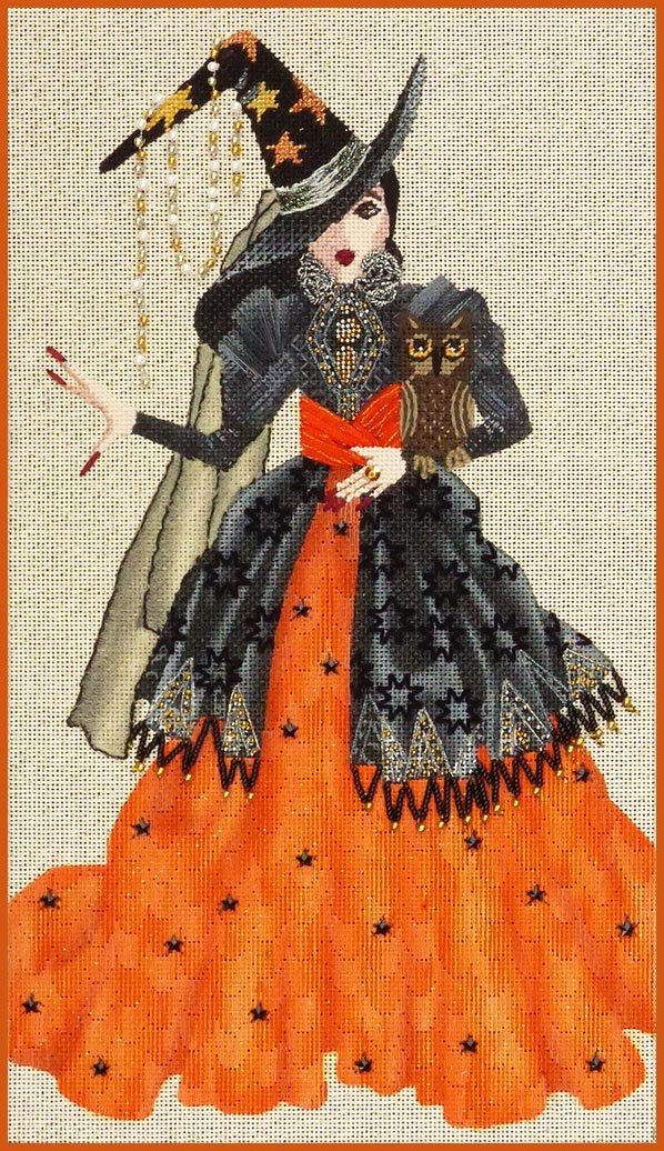5236 Serafina Witchy Women w Stitch Guide