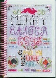 Merry Easter Eggs Needlepoint Book