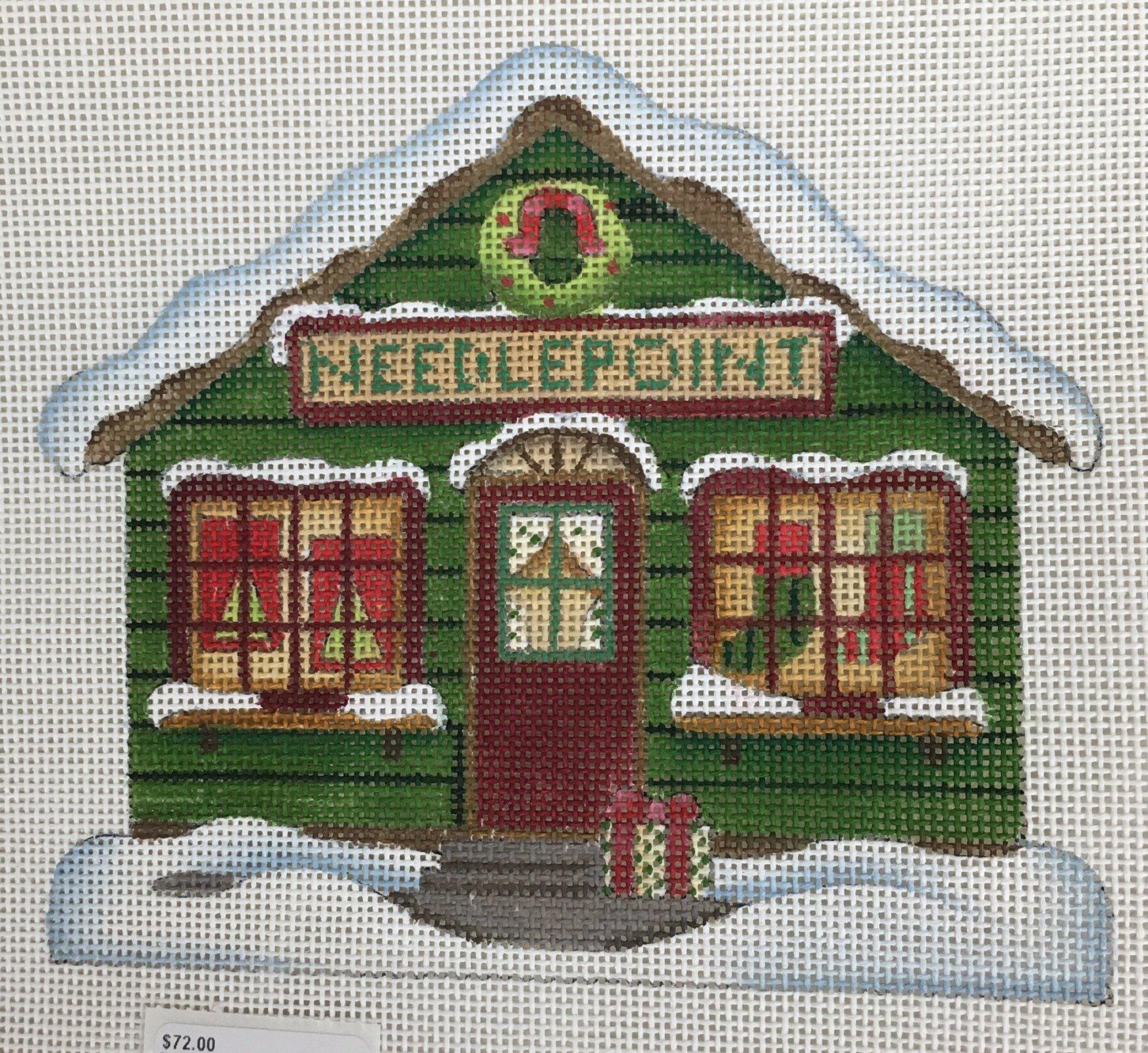 DM113D Needlepoint House