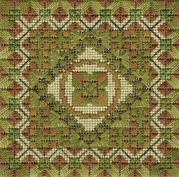 Camouflage Color Delights Charted Needlepoint Needle Delights
