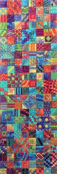 Poppers Charted Needlepoint Design