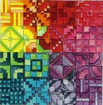 Rainbow Color Delights Needle Delights