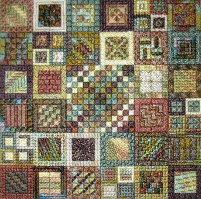 Rainforest Crunch Charted Needlepoint Design