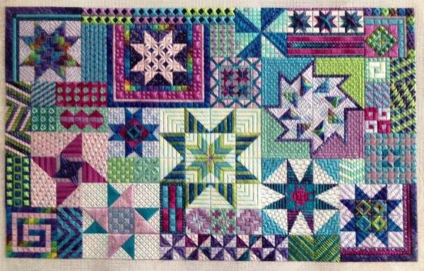 Starstruck Charted Needlepoint Design Needle Delights