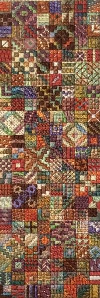 Tidbits Charted Needlepoint Design