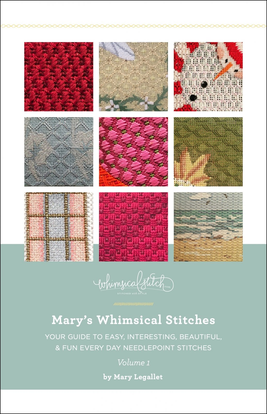 Mary's Whimsical Stitches Book Vol. 1