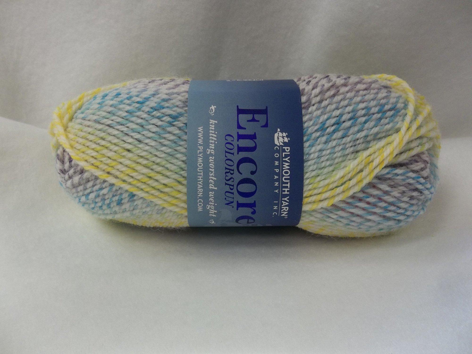 Encore Colorspun - Color 7333 -  Pastel Rainbow