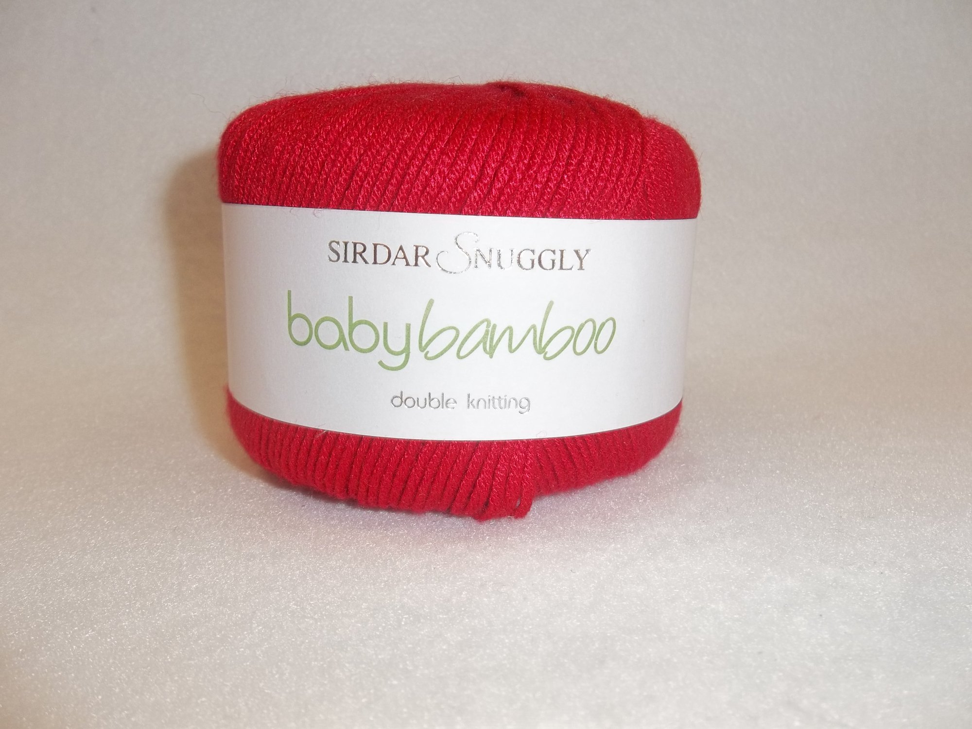 Sirdar Snuggly - Baby Bamboo - 126 Red