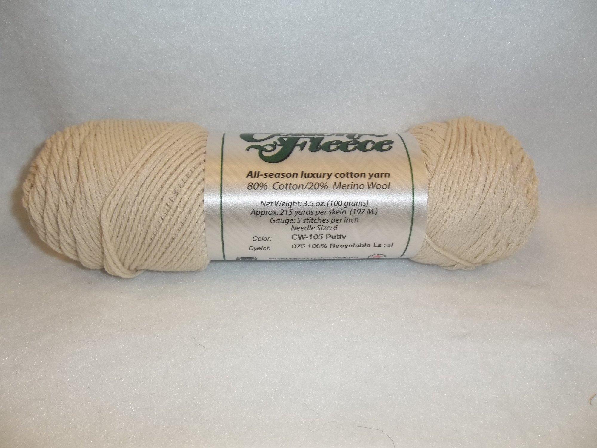 Cotton Fleece - CW-105 Putty (Natural)