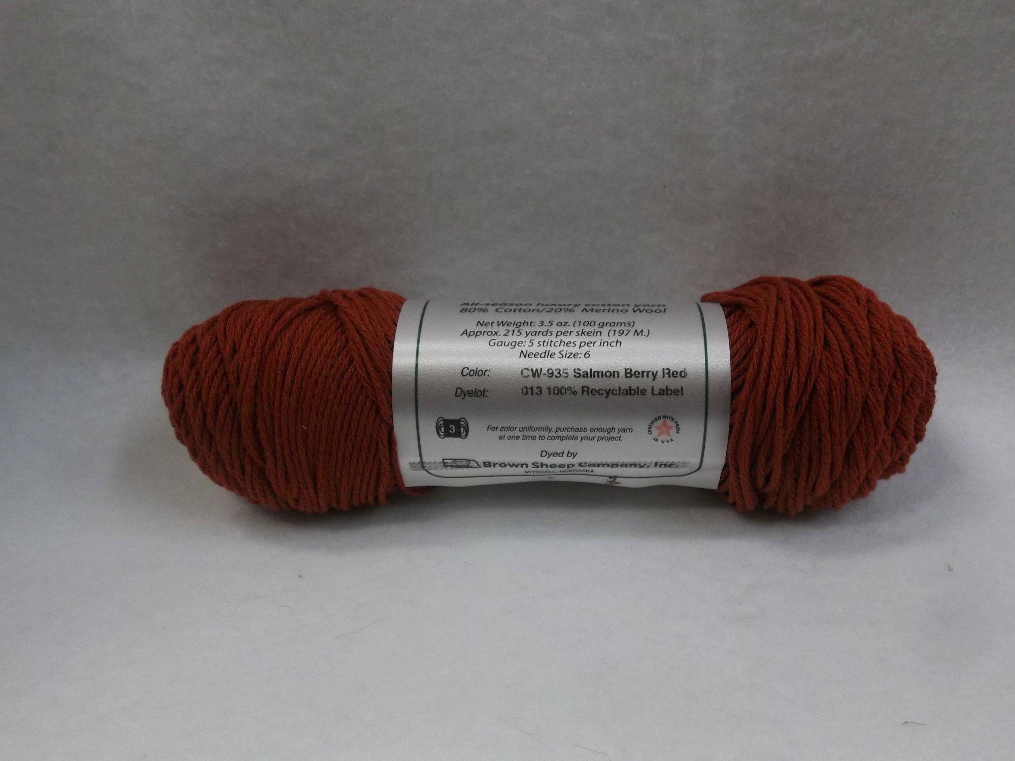 Cotton Fleece - CW-935 Salmon Berry Red