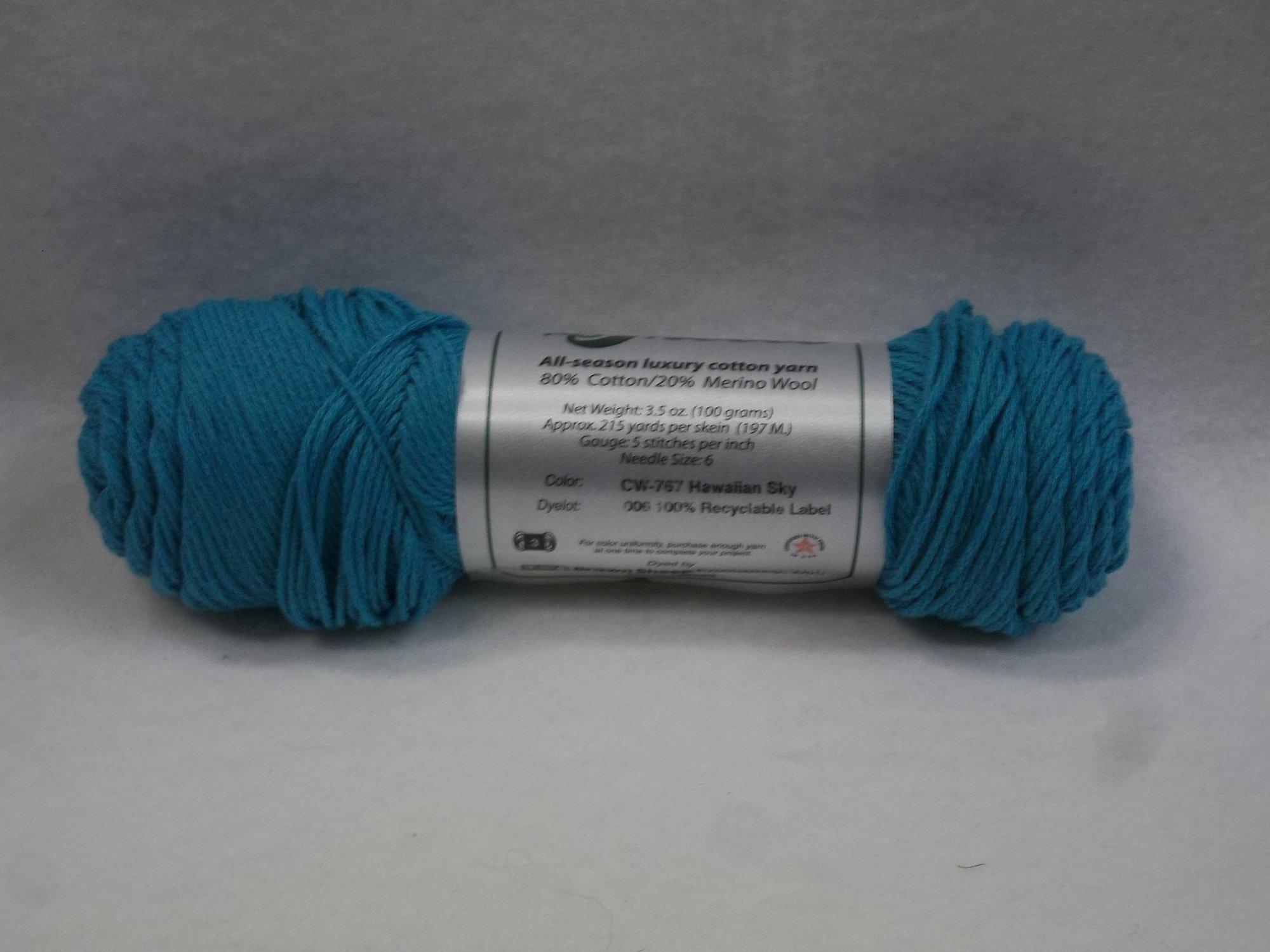 Cotton Fleece - CW-767 Hawaiian Sky