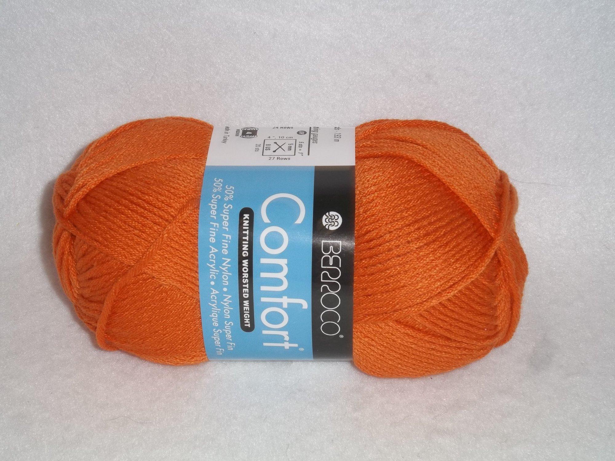 Comfort Worsted 9731 - Tangerine