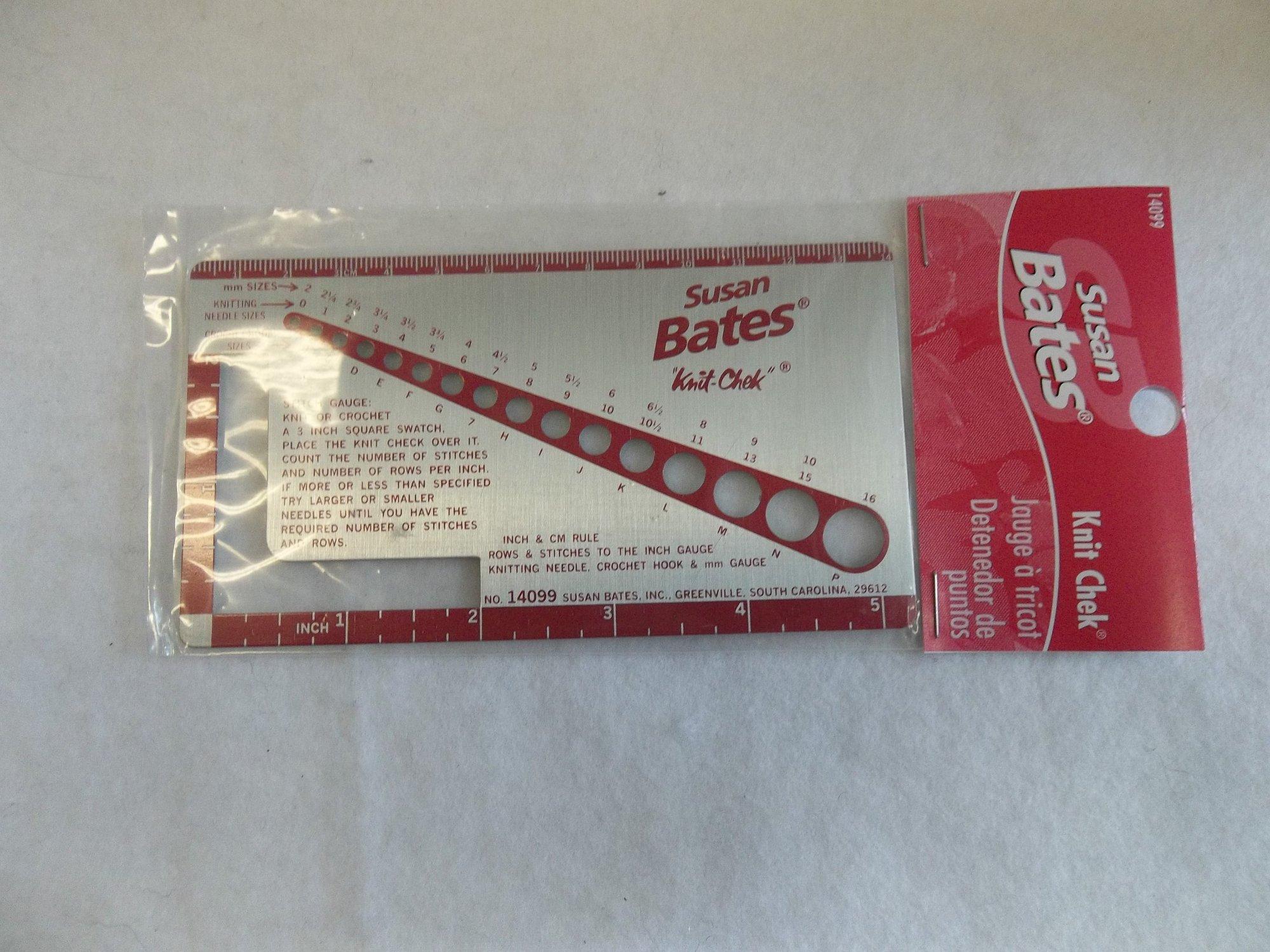 Knit Chek by Susan Bates - 14099