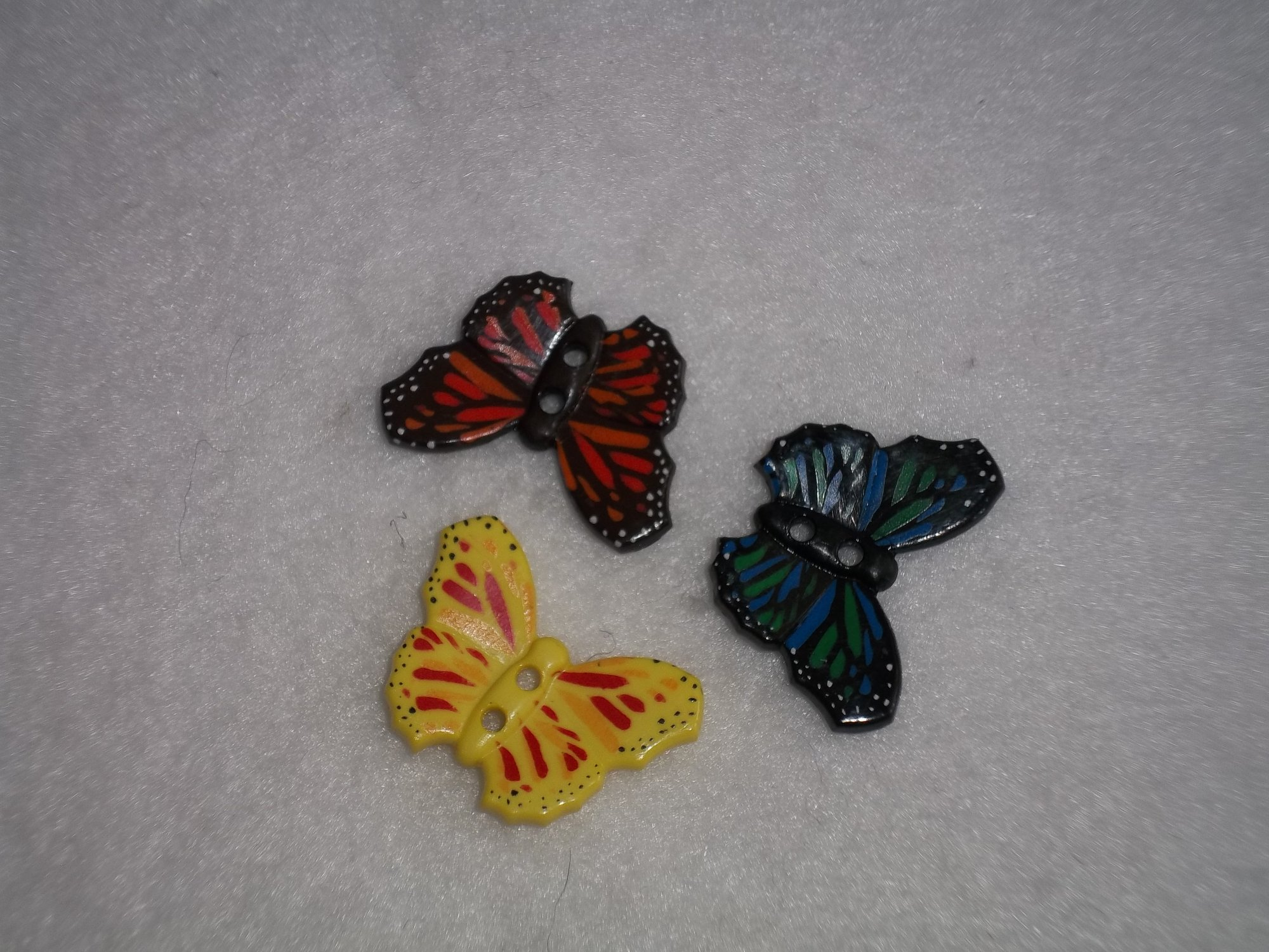 Butterfly various colors 28mm
