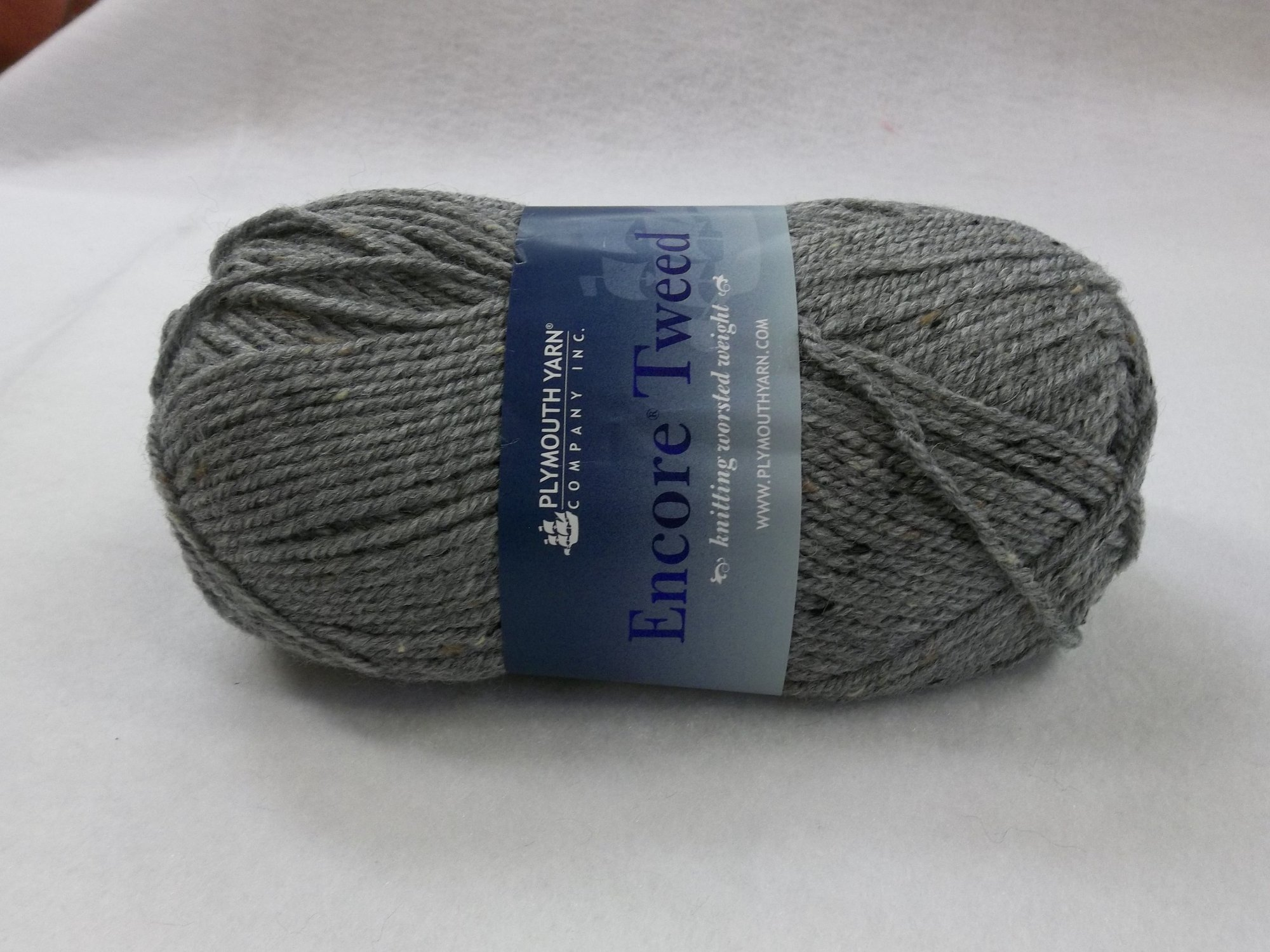 Encore Tweed - Worsted - T789 - Medium Gray