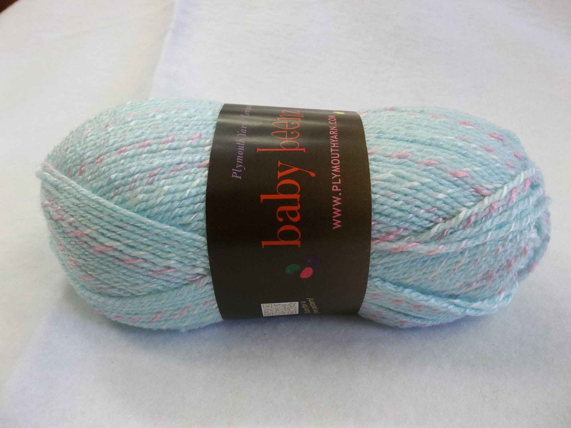 Baby Beenz - Color 080 - Seafoam and Pink
