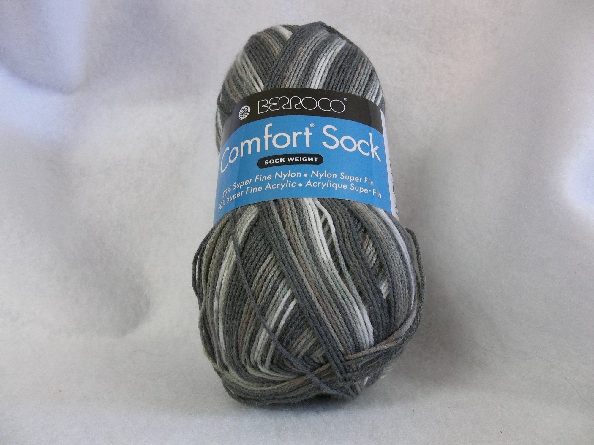 Comfort Sock - Color 1814 - Greys and Browns