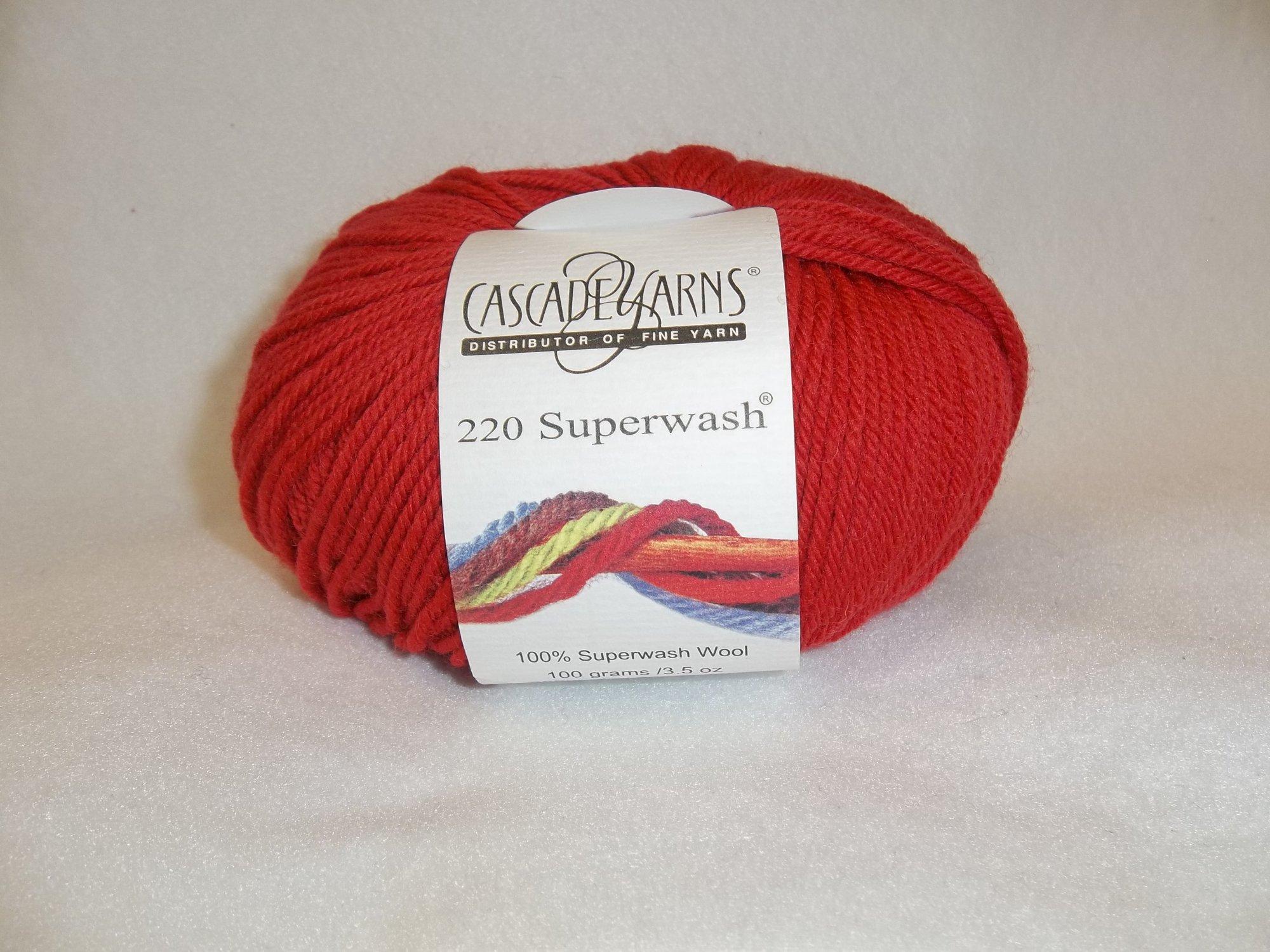 Cascade 220 SW - Color 1921 - Bright Red