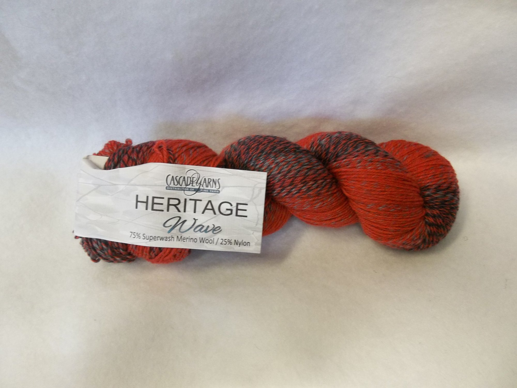 Heritage Wave Color 505 - Reds and Grays