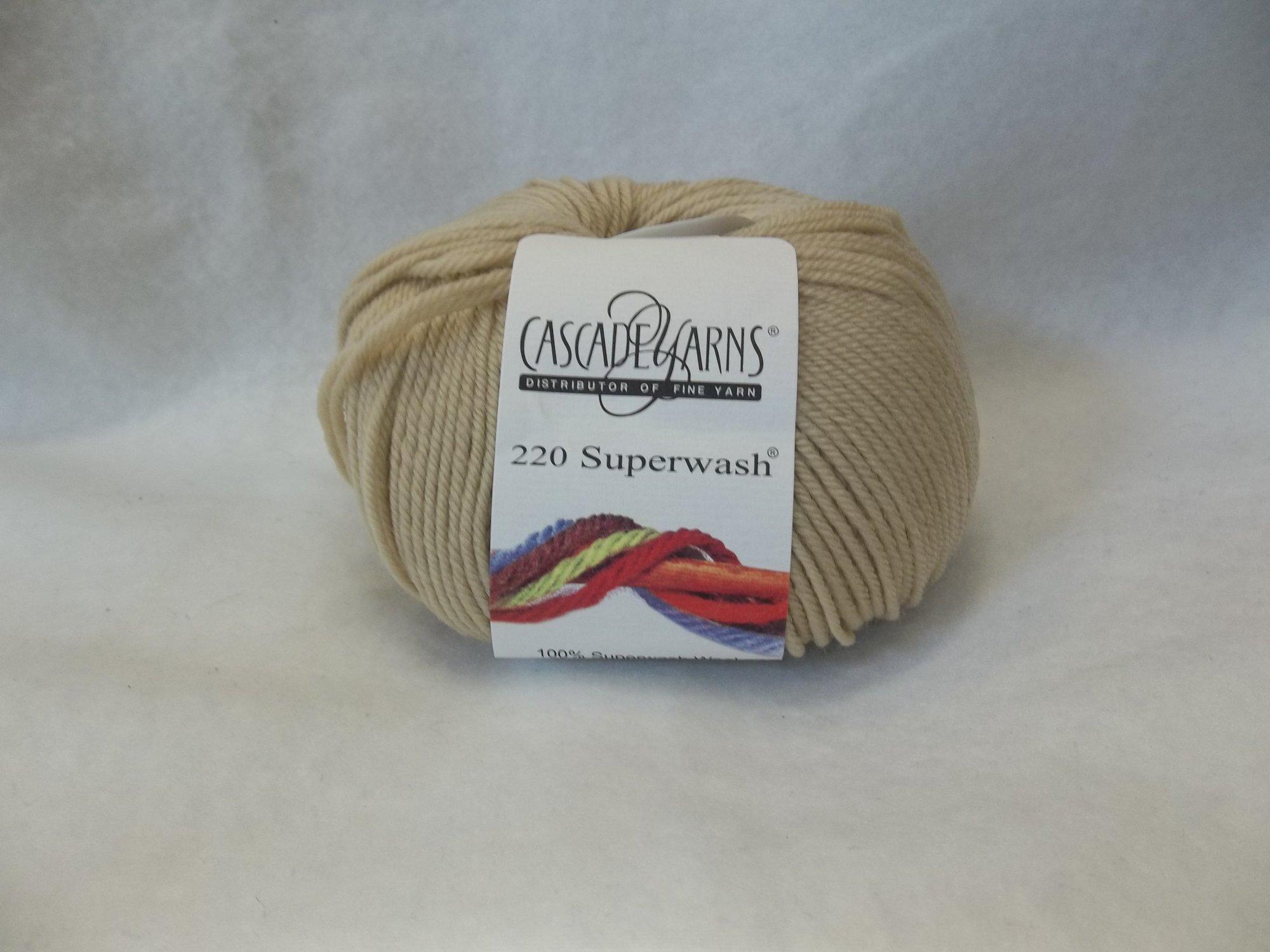 Cascade 220 Superwash - Color 228 - Dark cream