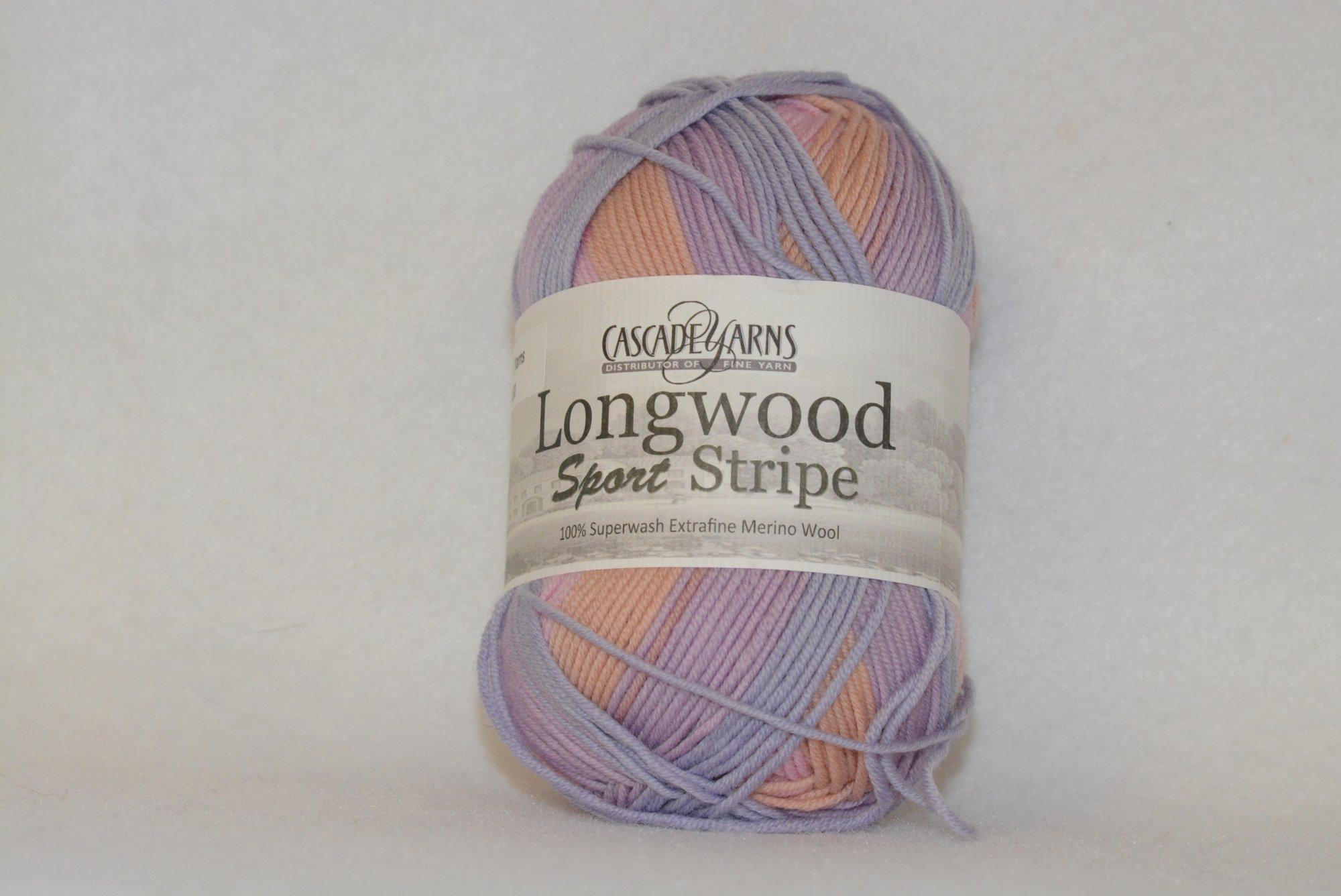 Longwood Sport Stripes - 505 - Pink/Coral/Purple/Blue