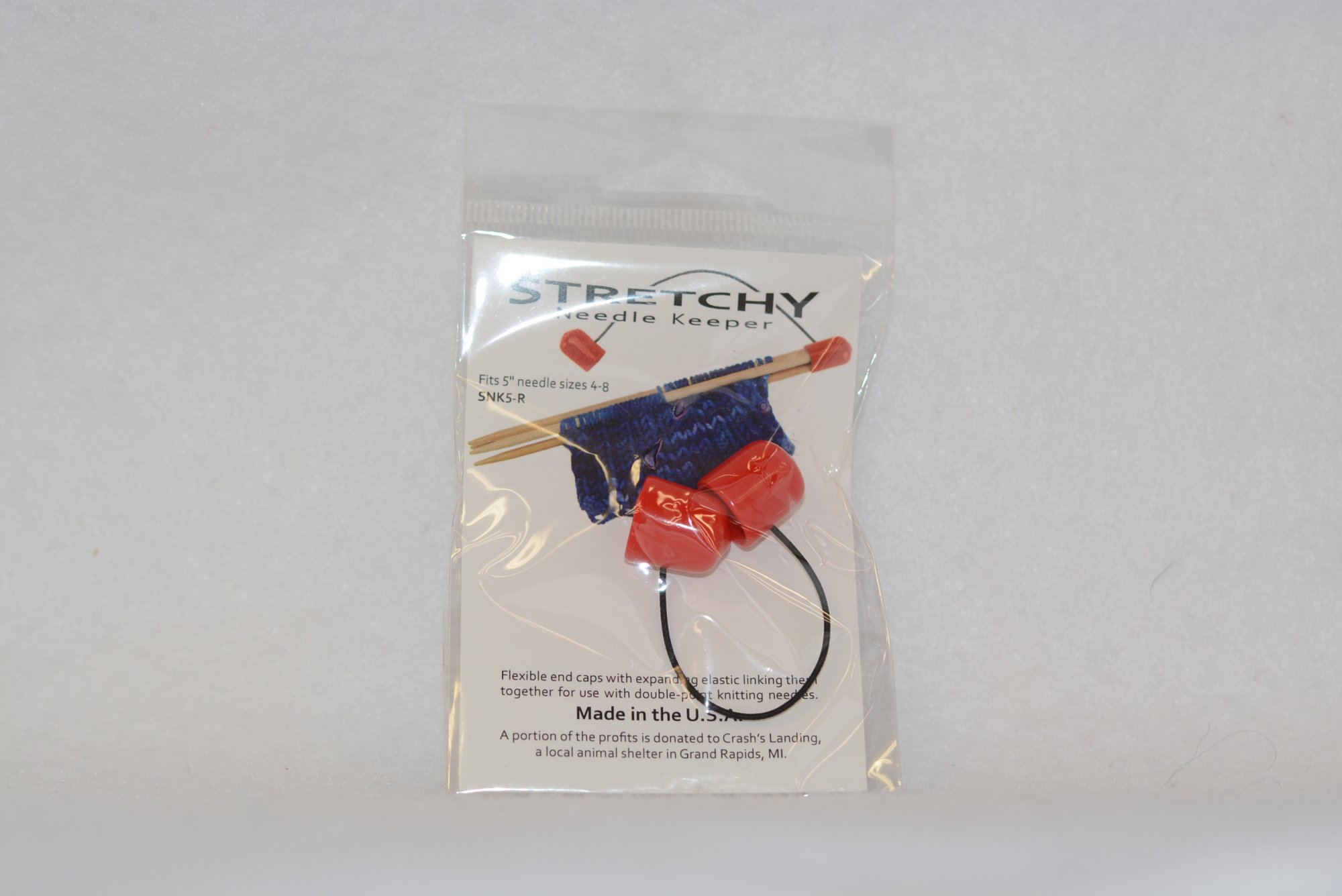 Stretchy Needle Keepers for 5 DPN needles - 4-8