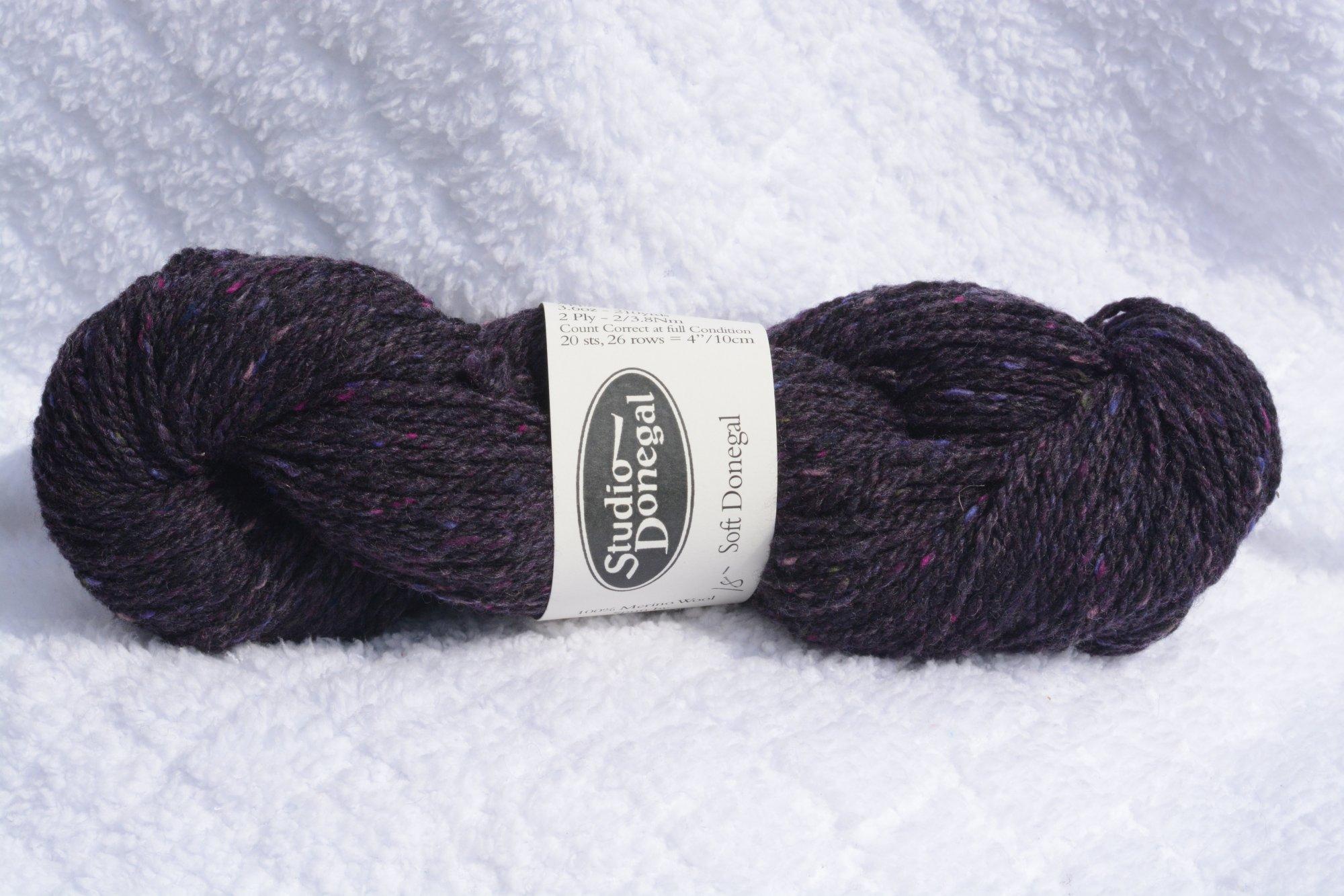Soft Donegal - Dark Grape