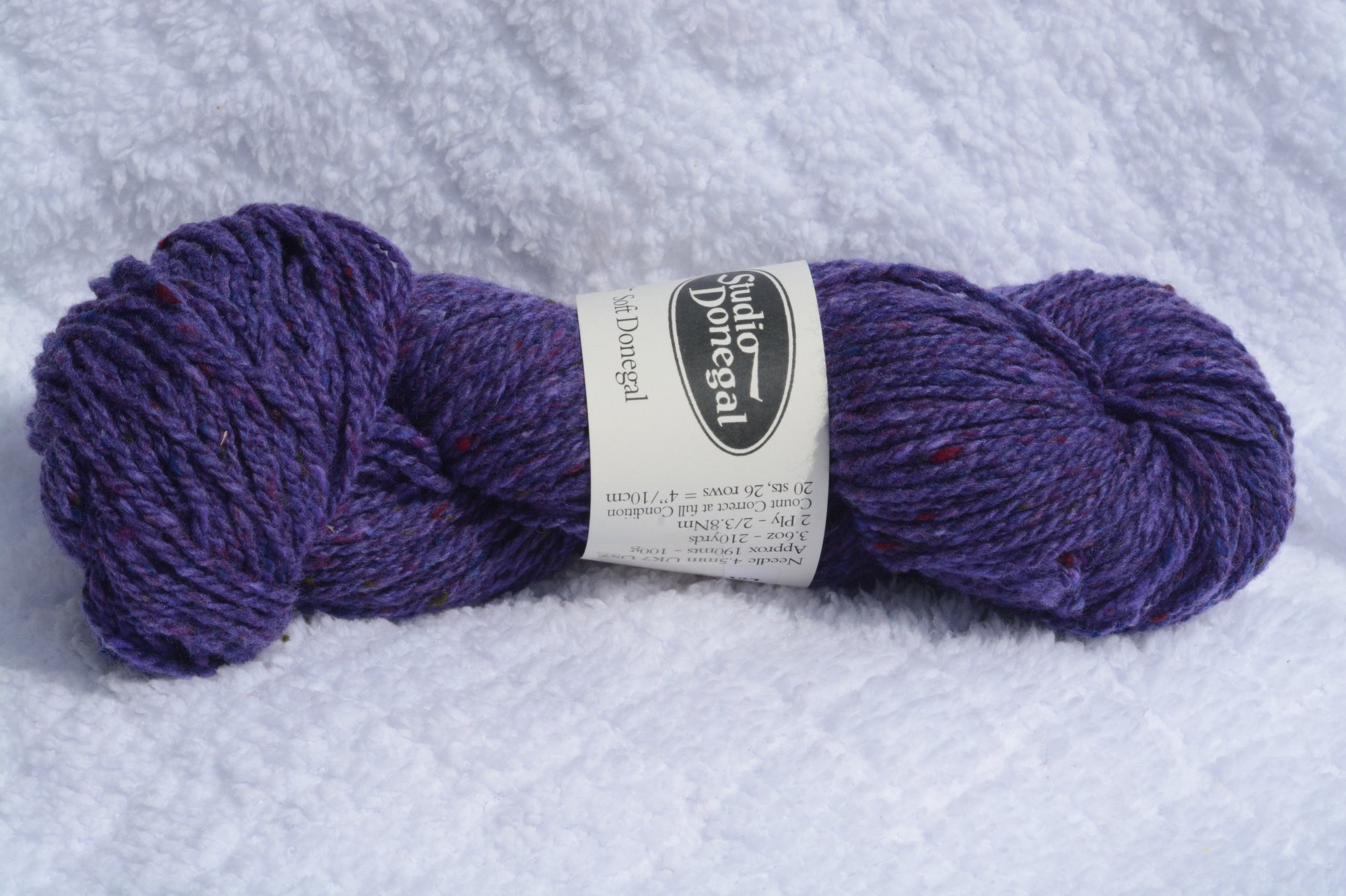 Soft Donegal - purple