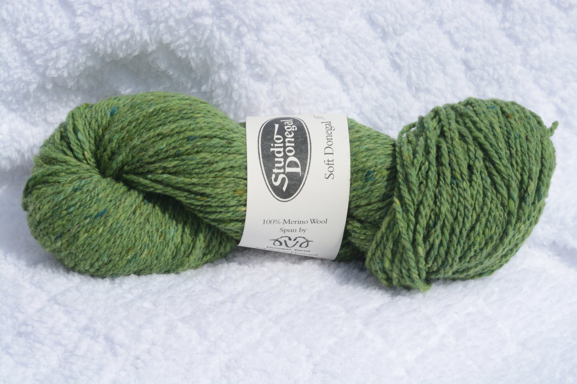 Soft Donegal - Lime Green