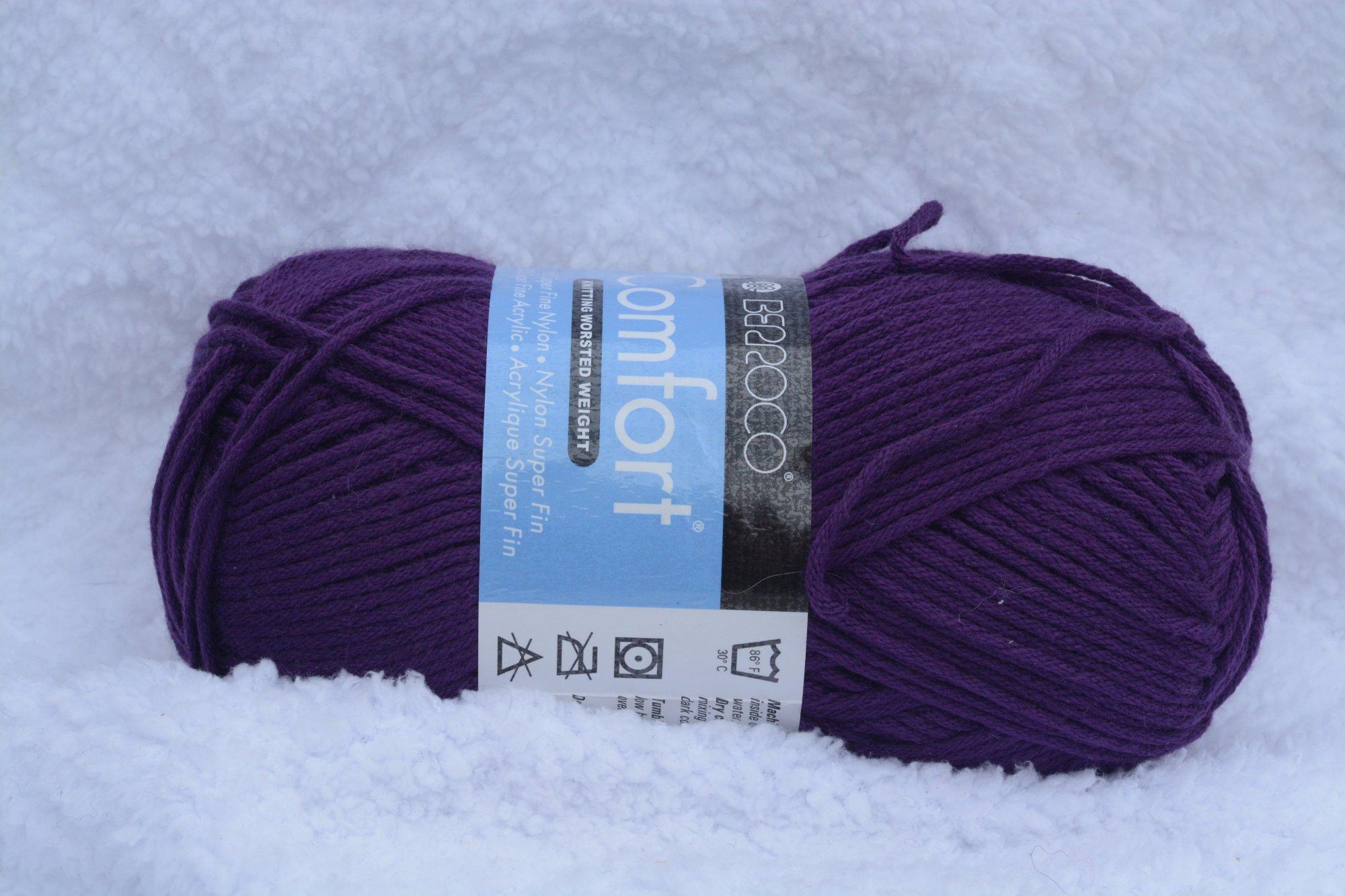 Comfort Worsted - 9722 - Purple