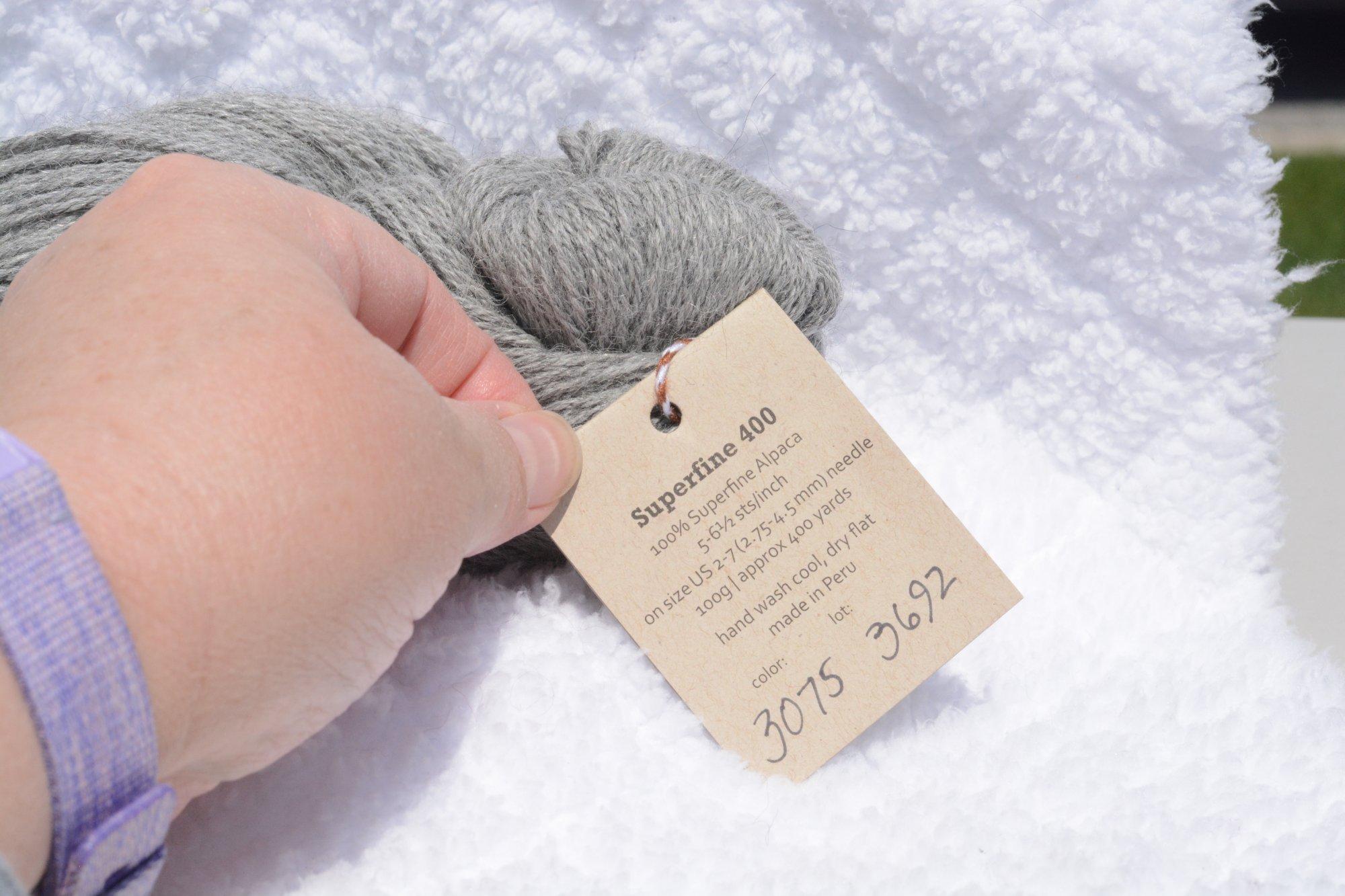 Superfine 400 - Color 3075 - Gray