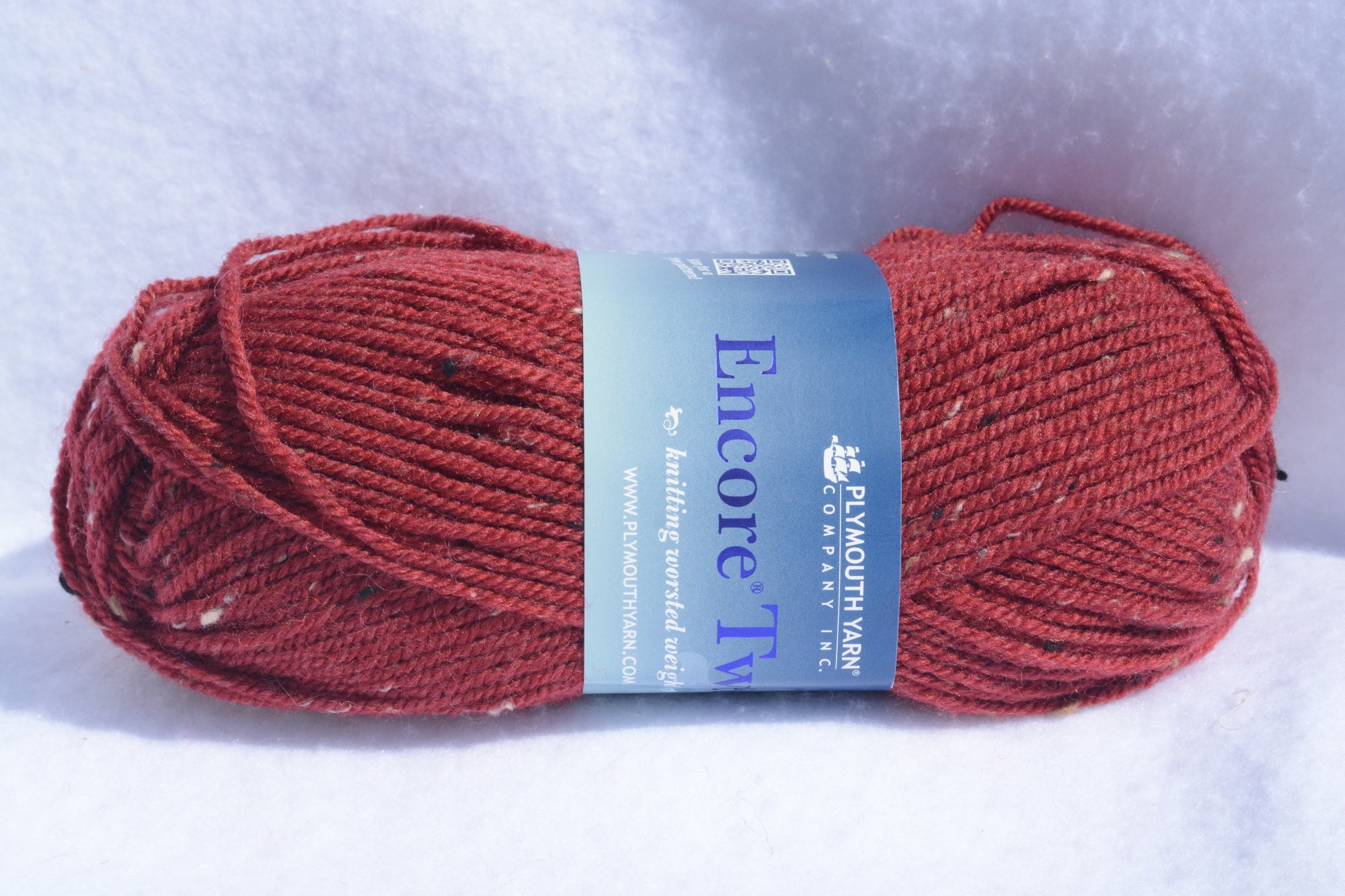 Encore Tweed - Worsted - T212- Medium Red