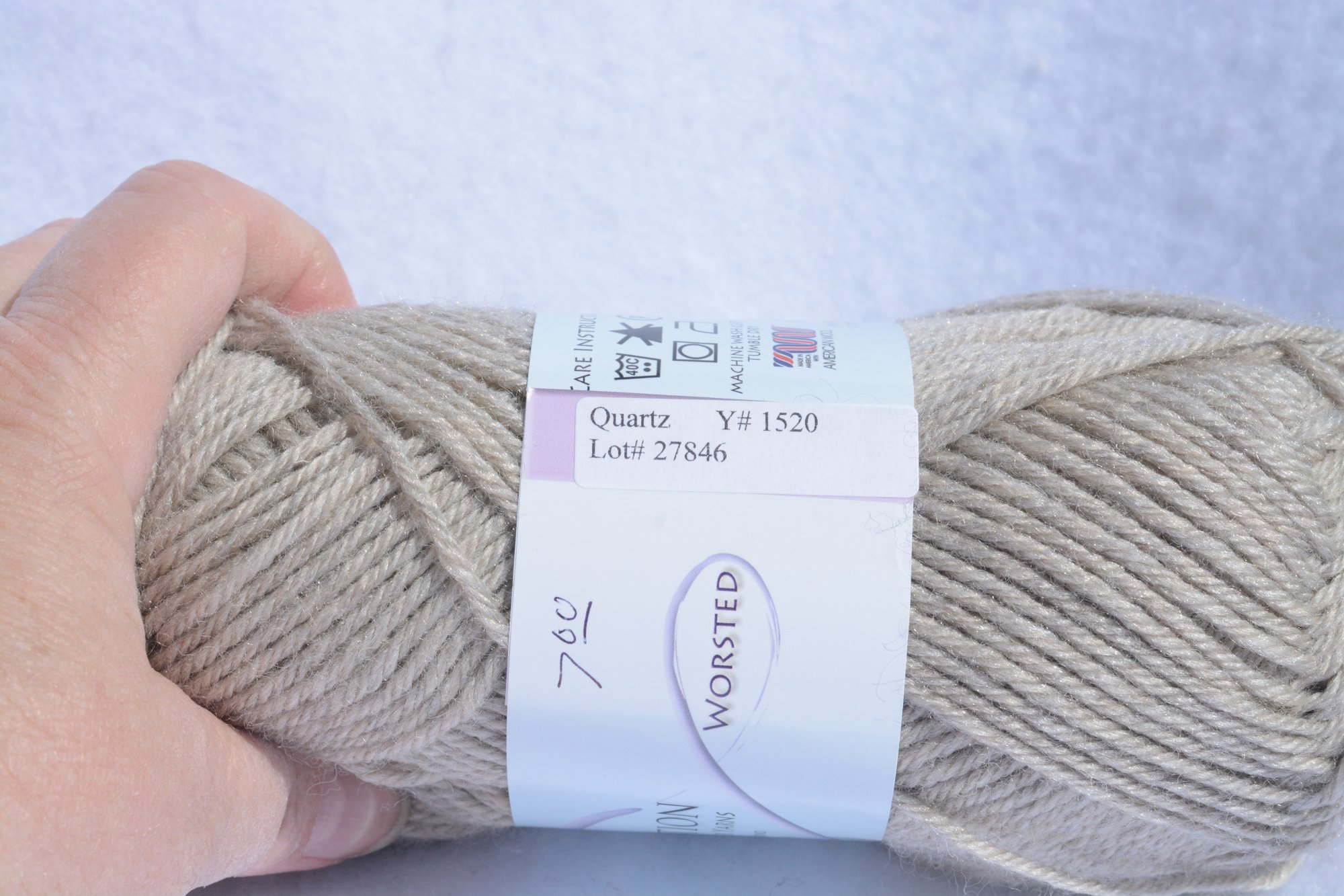 Perfection By Kraemer Yarns - Y1520 - Quartz