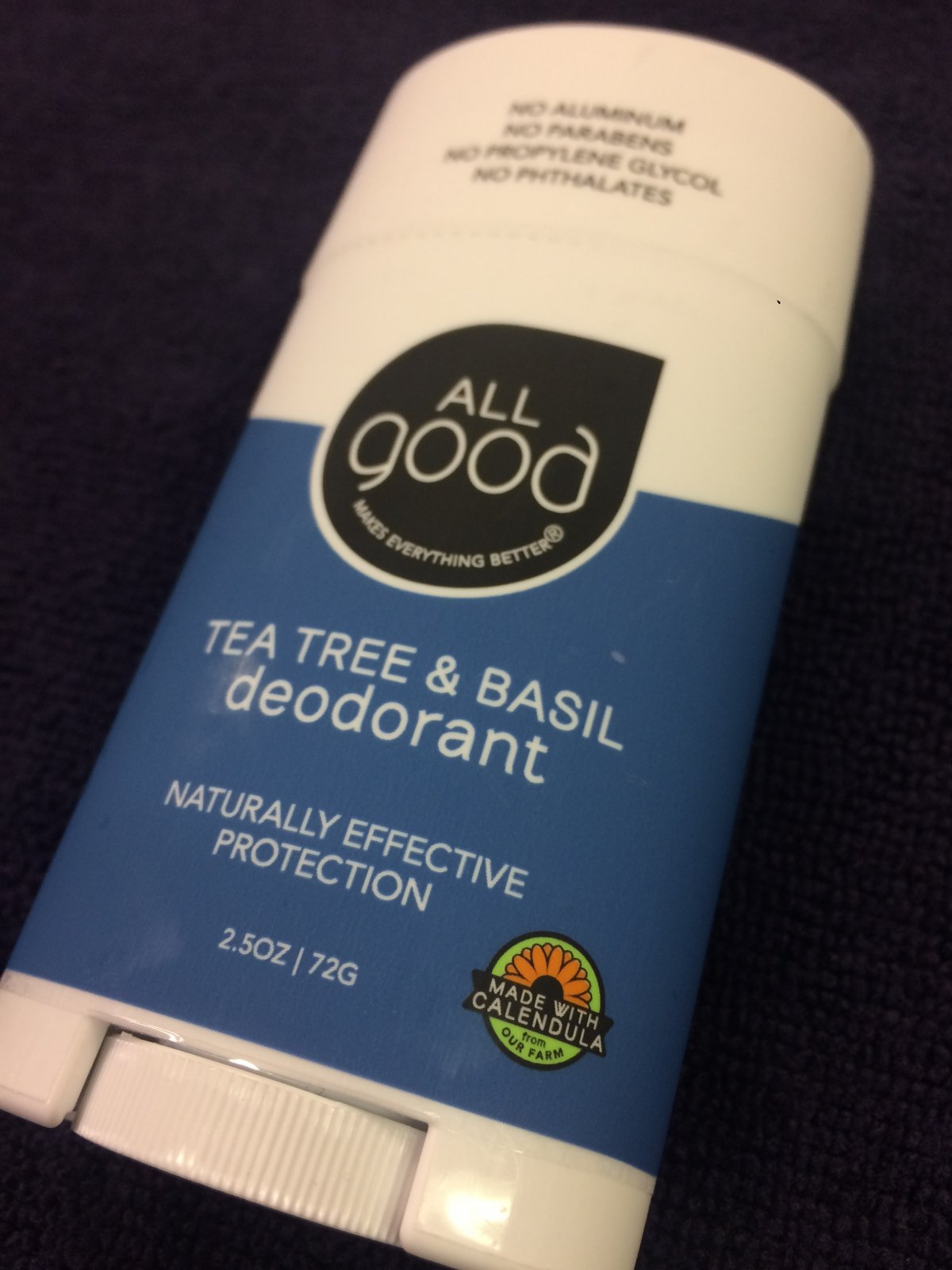 All Good Natural Products Deodorant
