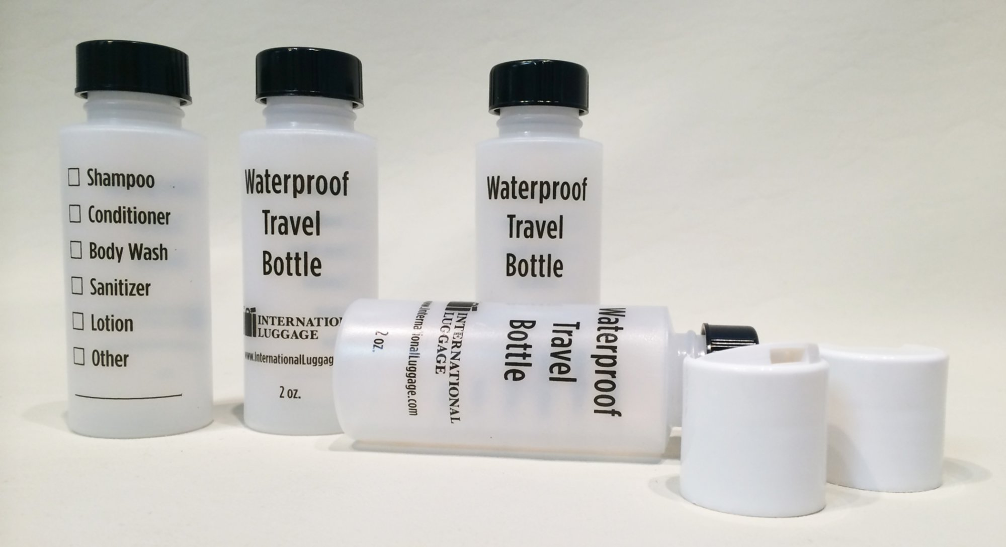 ILC Travel Bottle Set  4-2 oz