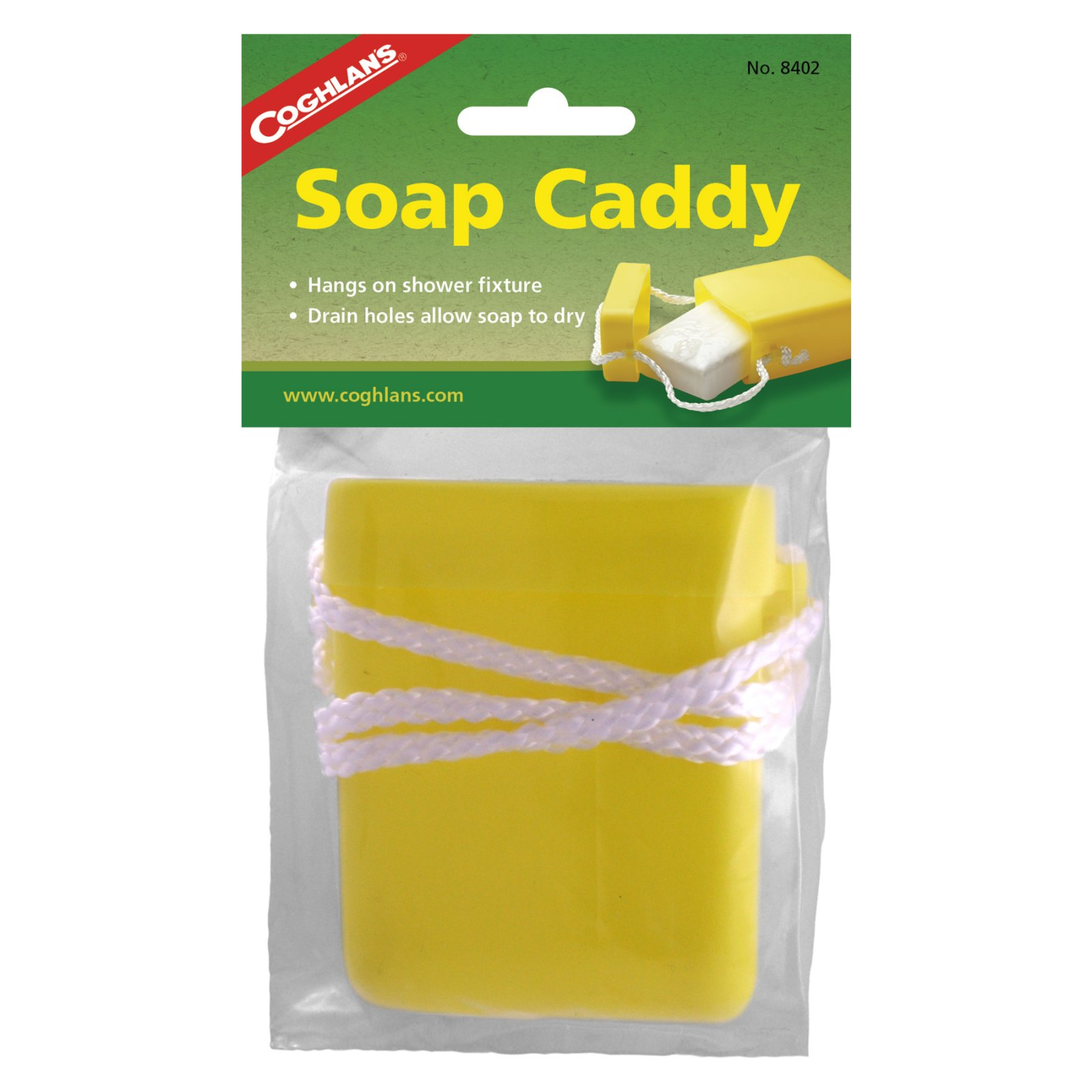 Soap Caddy (Soap on a Rope) Coghlan's  8402