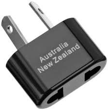 Adapter Plug Australia, New Zealand, Fiji and China Non-grounded