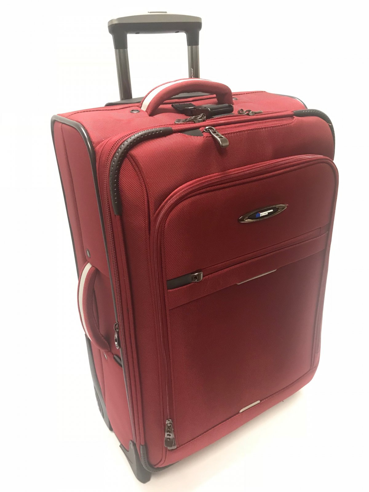 28 Checkable Red Everest Collection with Ballistic Polyester (international travel dimensions) by International Luggage