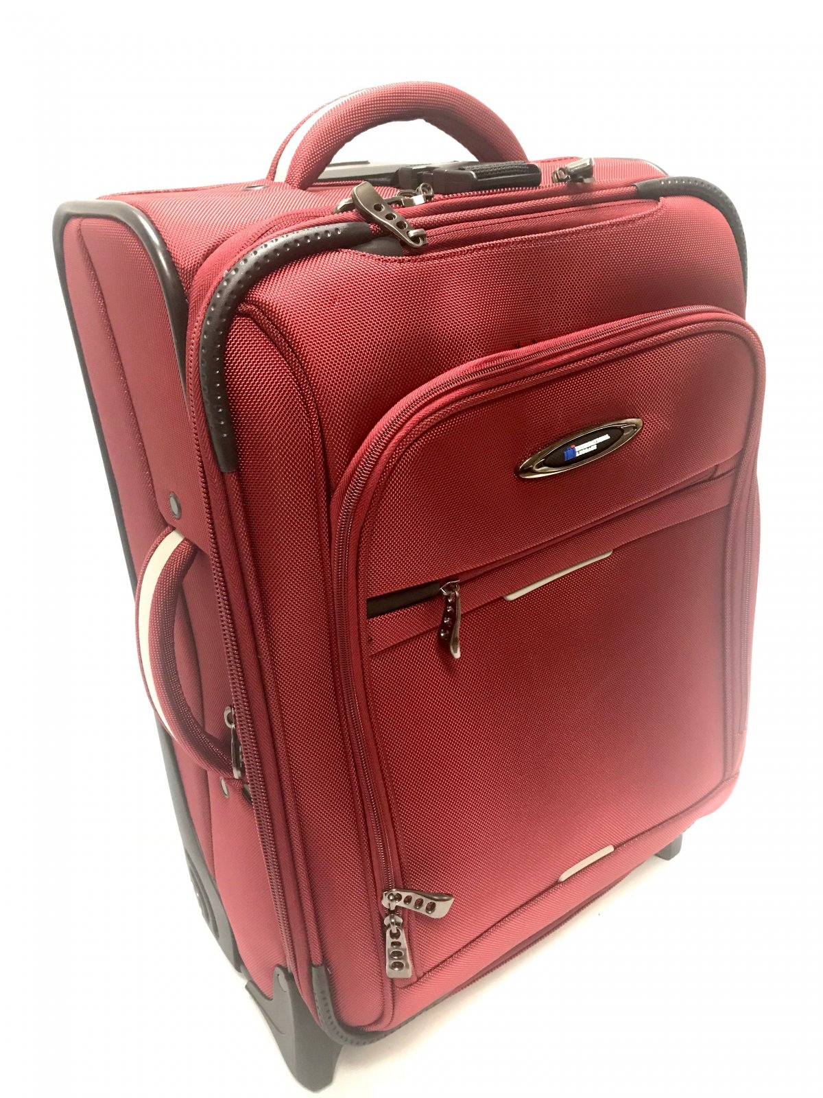 International Carry on Red Everest Collection with Ballistic Polyester (international travel dimensions) by International Luggage